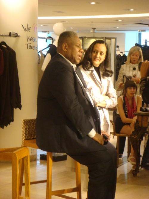 Andre Leon Talley & Isabel Toldeo