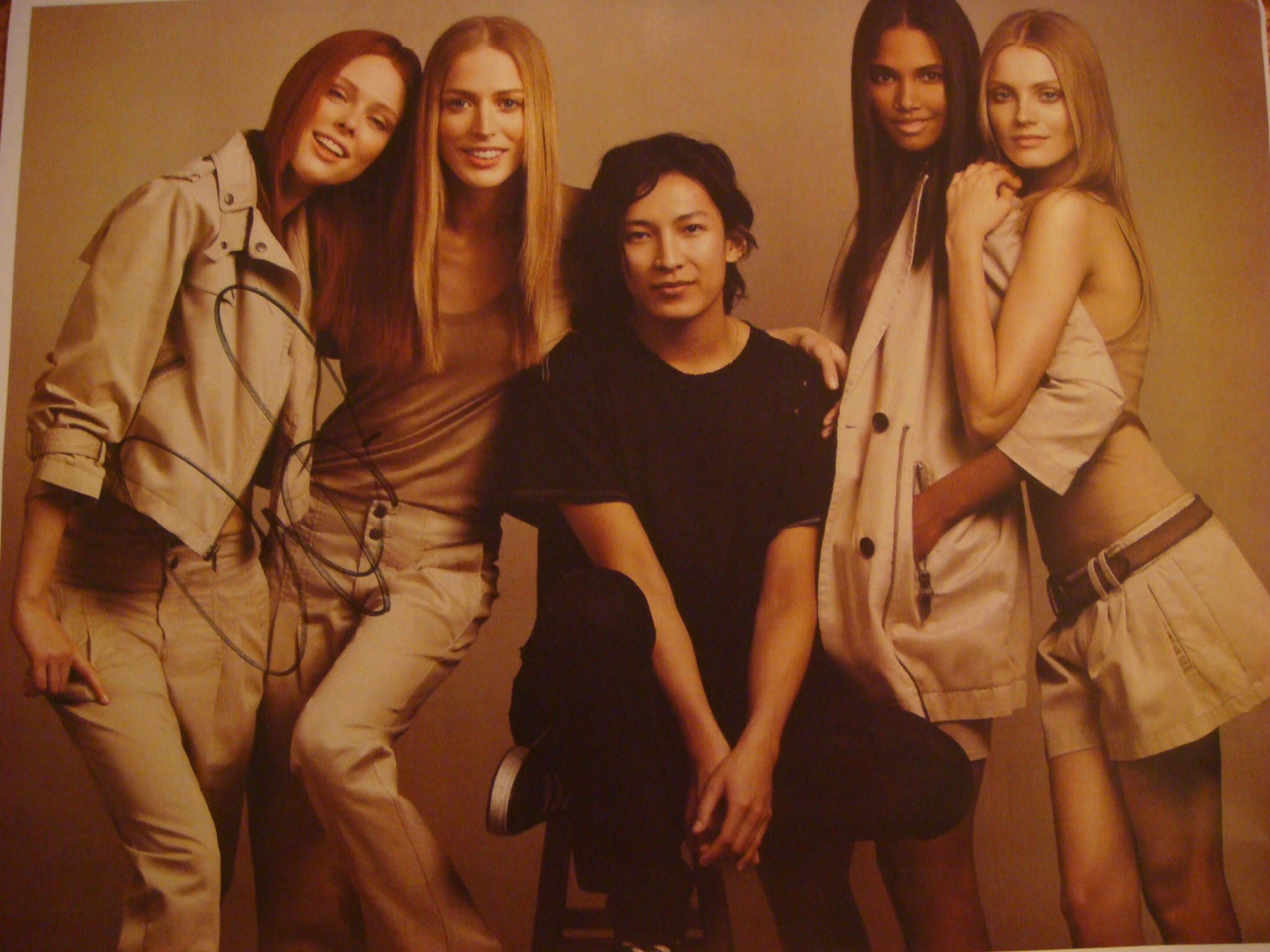 Autographed Alexander Wang photo