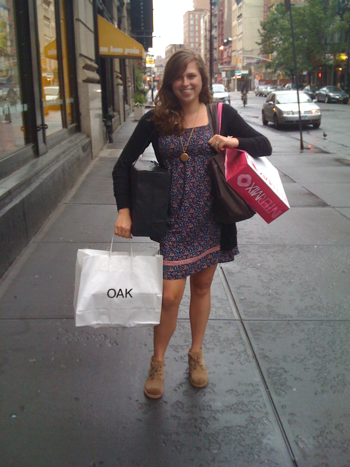 Chelsey shopping