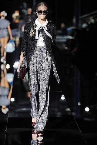 Dolce & Gabbana Pajama Dressing