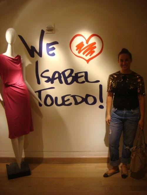 I heart Isabel Toledo