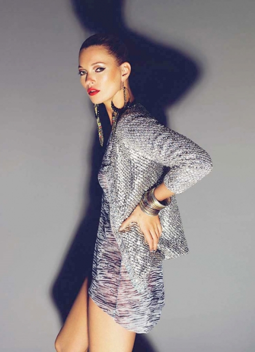 Kate Moss for TopShop All Over Sequin Cardigan