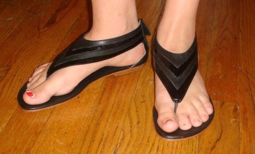 Matt Bernson for Oak thong sandals