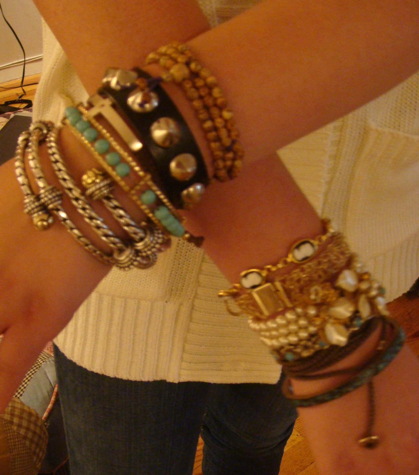 youtube bangles watch gold haak annie stack frankincense bracelet stacked