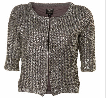 Kate Moss for TopShop All Over Sequin Cardigan 2