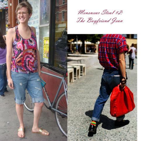 Menswear Steal #2: The Boyfriend Jean