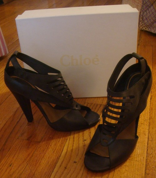 Chloe Saturnia Heels