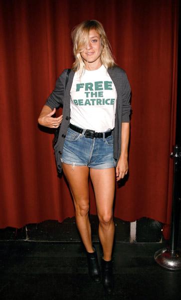 Chloe Sevigny Levis Boyfriend Shorts