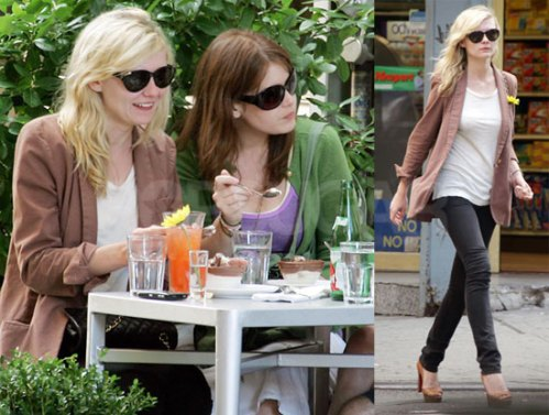Kirsten Dunst undershirt