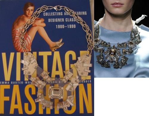 Lanvin-esque & Lanvin necklace