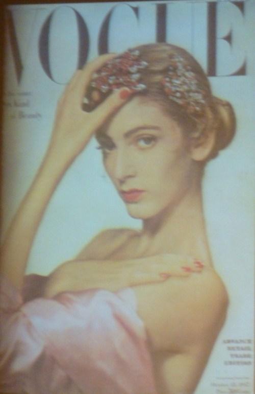 Carmen Dell'Orefice Vogue 1947