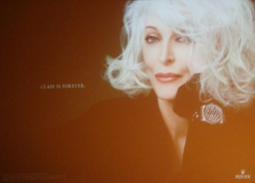 Carmen Dell'Orefice Rolex Ad