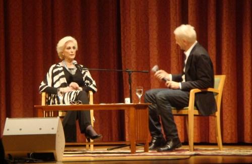 Q&A with Carmen Dell'Orefice
