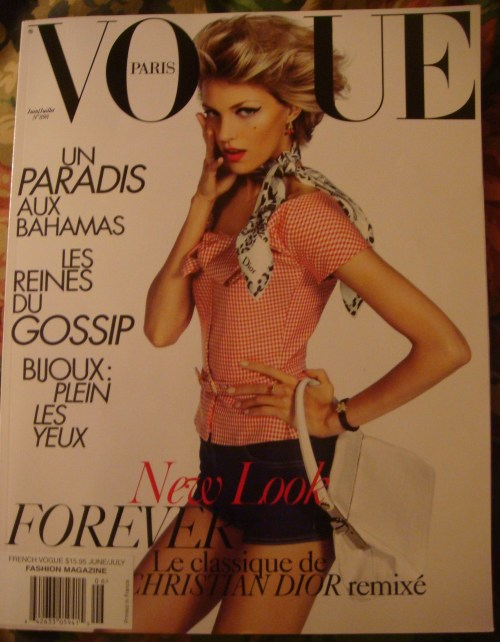Paris Vogue cover