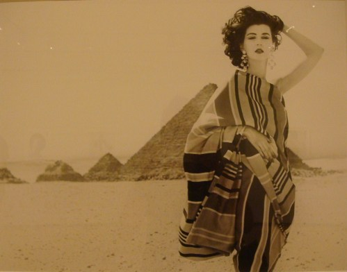 Richard Avedon in Egypt photograph
