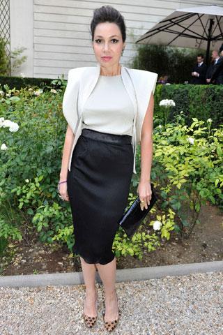 Fabiola Beracasa in Calvin Klein