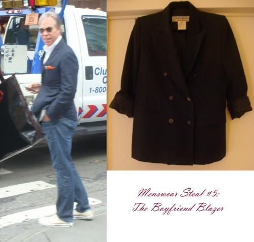 Menswear Steal #5: The Boyfriend Blazer