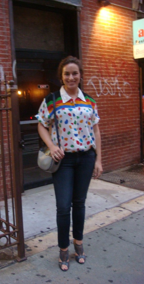 Vintage Chloe shirt ensemble