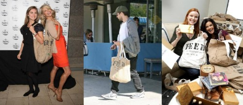 Celebrities & their FEED bags