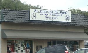 St. Vincent de Paul vintage & thrift store