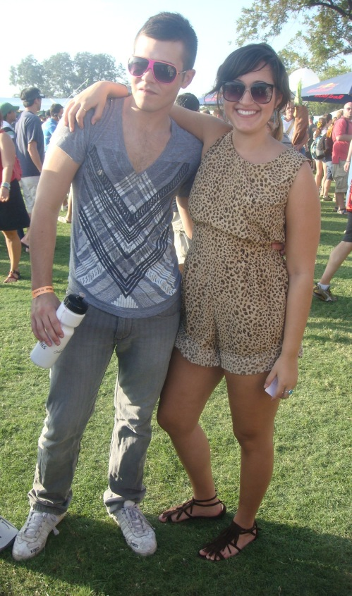 Austin City Limits leopard romper