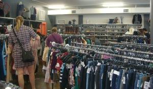 Buffalo Exchange shopping