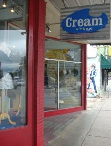 Cream vintage