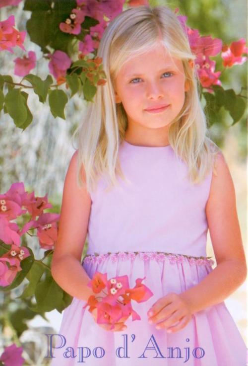 Papo d'Anjo pink dress