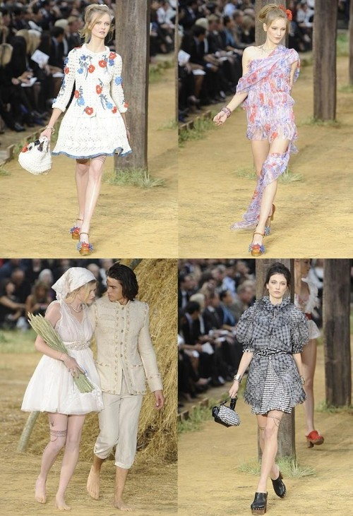 Chanel-Peasant Chic Montage